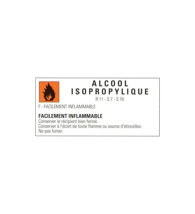 Bouteille d'alcool isopropylique