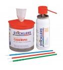 Kit de nettoyage Fibre Optique Sticklers MCC-FK03