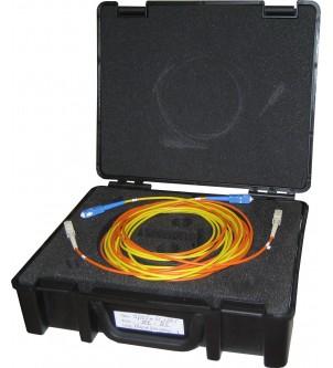 Valise de fibre amorce