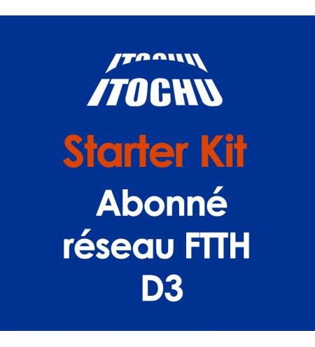 Starter kit pour « Raccordement Abonné - réseau FTTH » D3