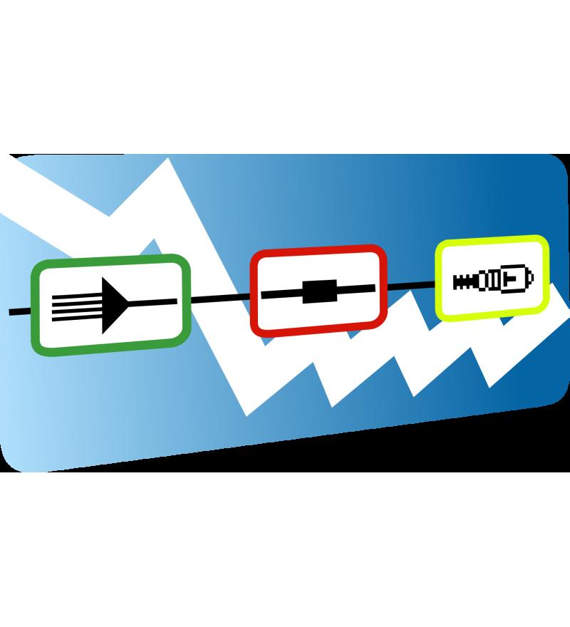 Logiciel de traitement des données réflectométriques VIAVI OFS 100 Fibre Trace 2.0