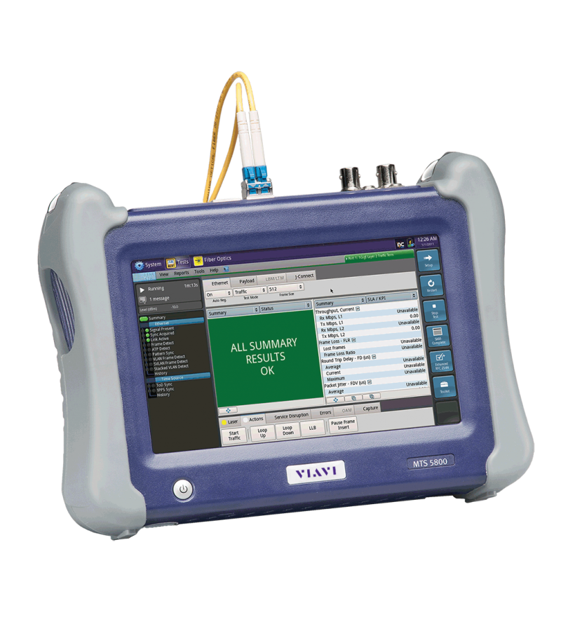 MTS-5800 - Handheld Network Tester