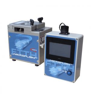 MicroFlow Touch blowing machine