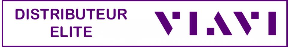 Réflectomètre optique VIAVI pour mesure FTTx